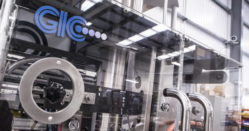 gic 2100 vertical bagging machine