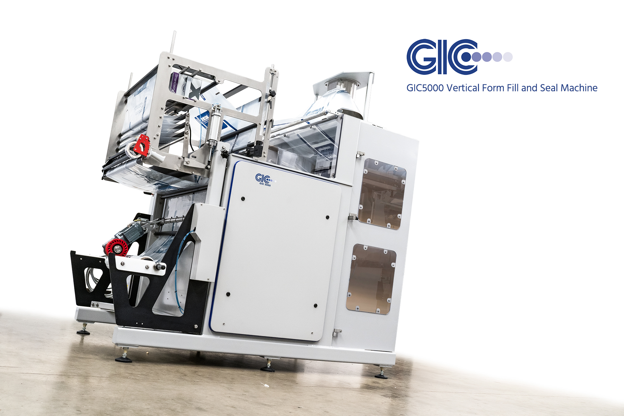 gic 5000 vffs bagging machine uk manufacturer