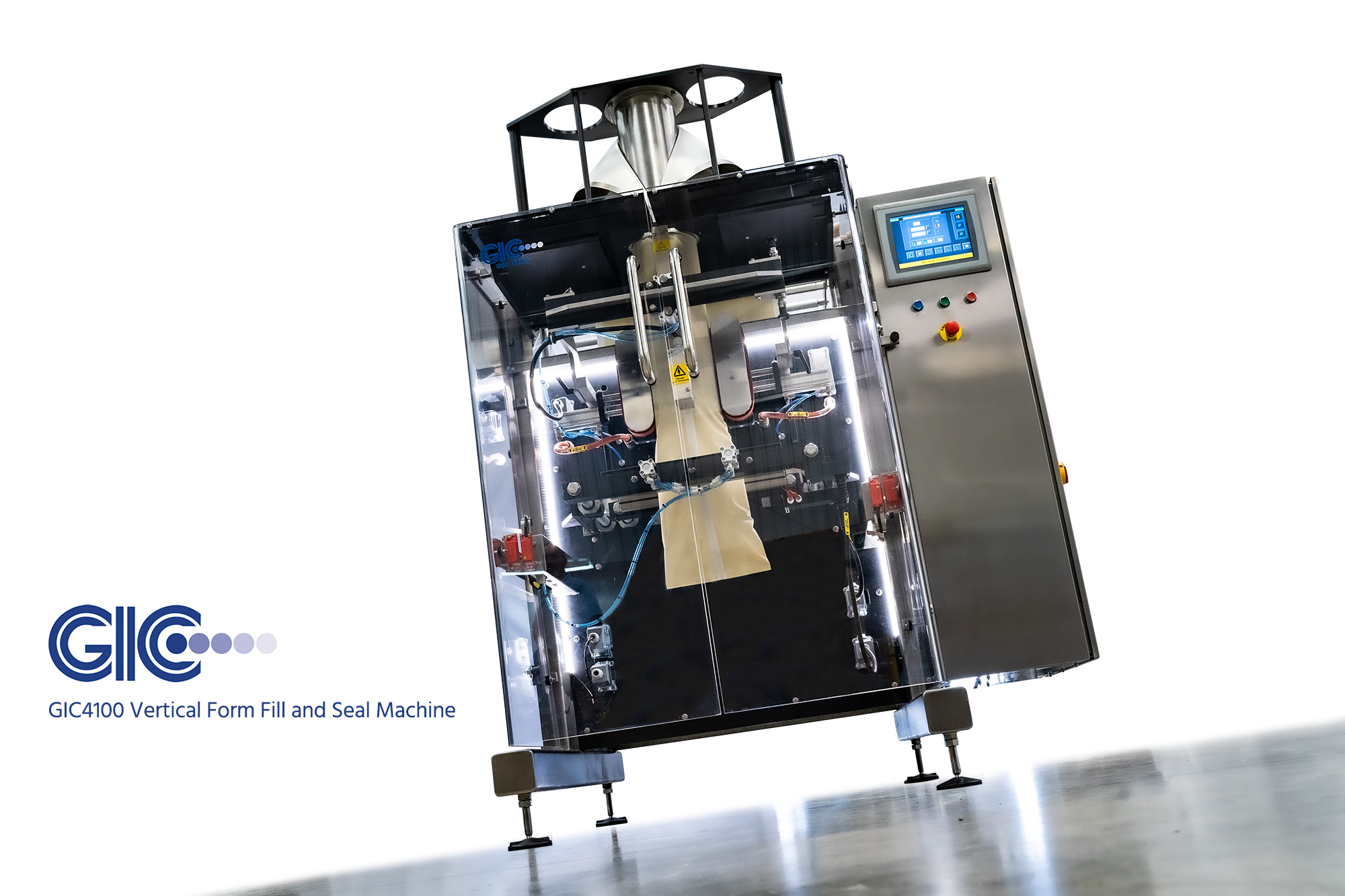 gic 4100 vffs bagging machine uk manufacturer