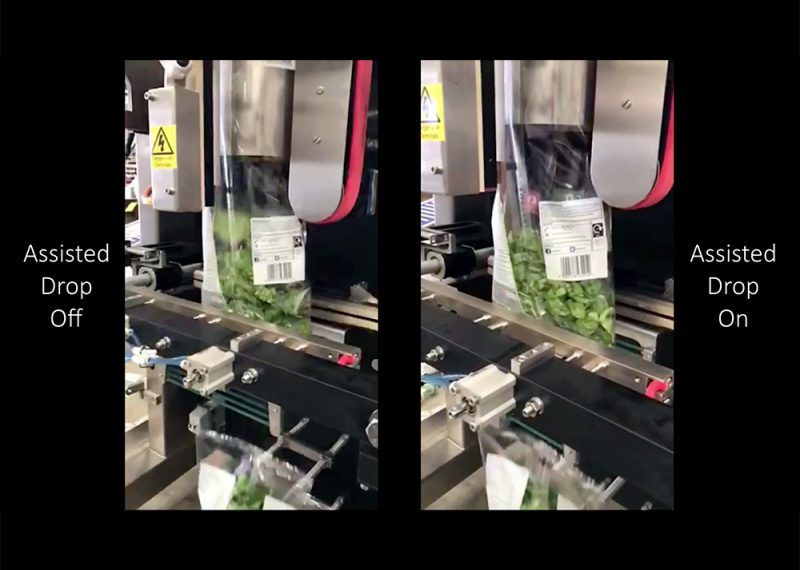 GIC Leaf Salad Assisted Drop (LSAD) System