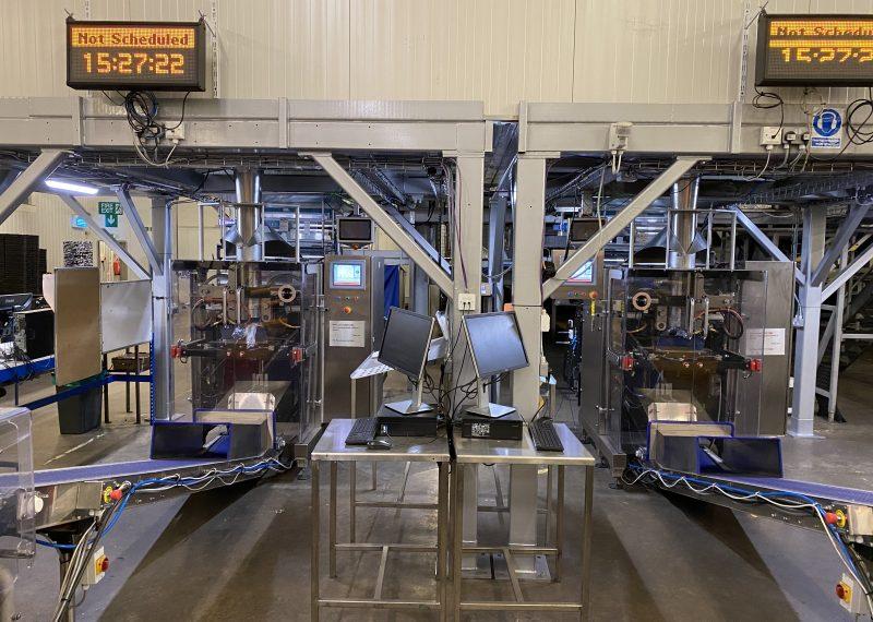 Potato packaging machines